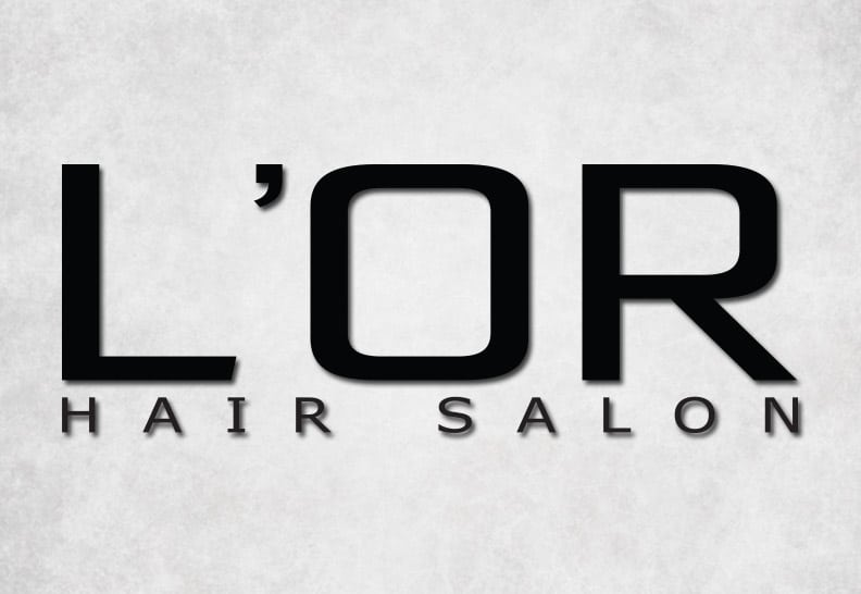 hair salon logo design