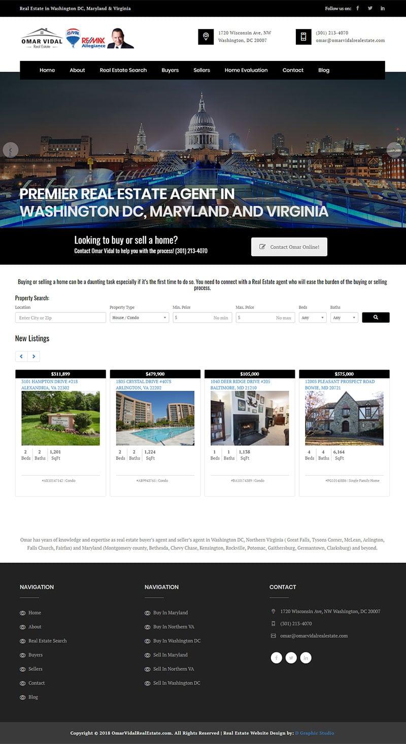 Real Estate Website Design Company