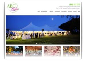 party rentals website design company