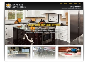 ac repair web design