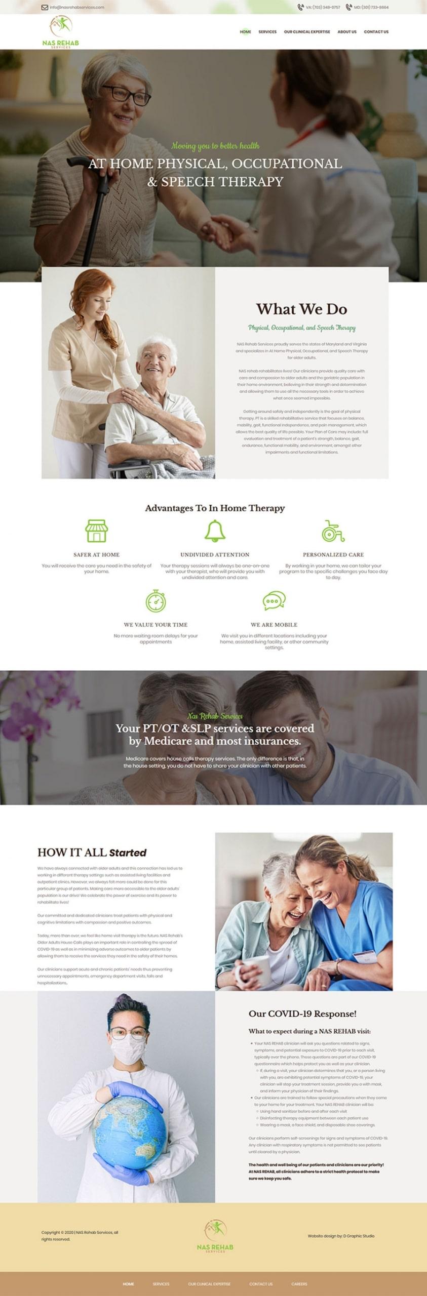 Doctor Website Design Services