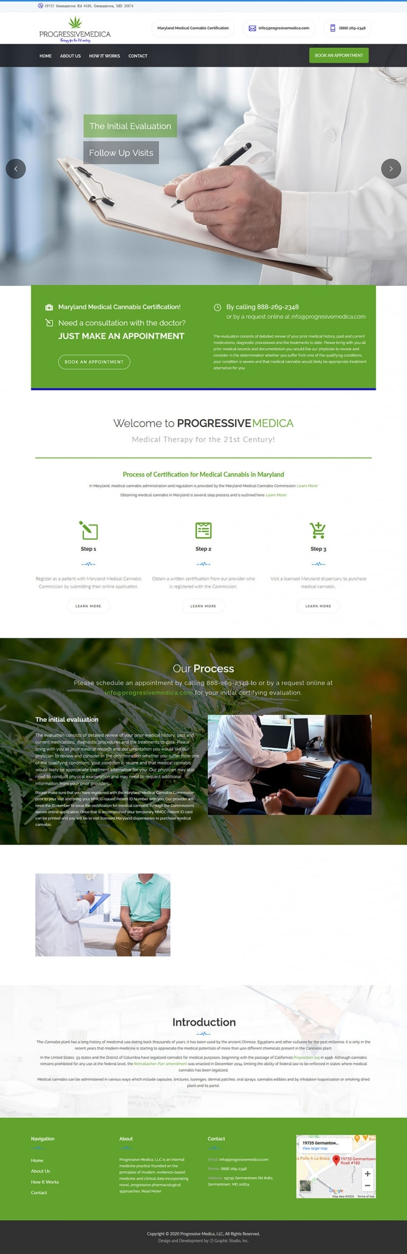 Doctors Web Design Services